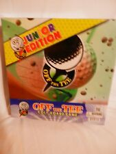 off the tee golf board game, jr. edition