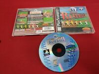 3D Baseball PS1 PSX Playstation 1 Original game Complete in case with manual MLB