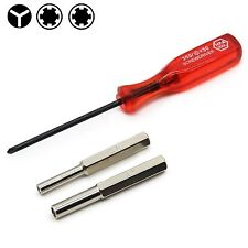 3.8mm 4.5mm Tri-wing Security Bit Screwdriver Nintendo NES SNES N64 Game Boy