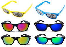 Occhiali da sole da donna con montatura in nero e mantatura in metallo e plastica, con 100% UV400