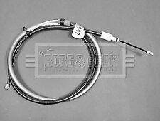 Citroen Partner Berlingo (1996-2017) Right Rear Handbrake Cable Motaquip VVB678