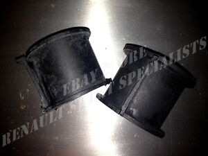 Silent blocks de crémaillère / steering rack bushings Clio 16S et Williams