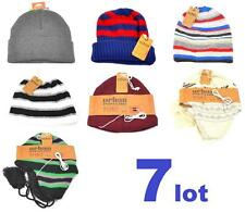Winter Lot Of 7 Mens Beanie Men Hat Mixed Warm Brand New Urban Pipeline Tek Gear