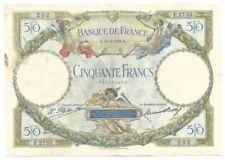 Billets de la banque française sur Luc Olivier Merson
