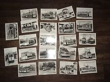 Postkarte Postkartenserie Ansichtskarte 100 Jahre Straßenbahn Halle 1882 - 1982
