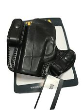 Tagua DSH-151 Taurus Slim 709 Black/ Left Hand Dual Snap Holster