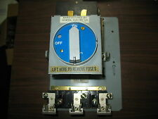 GE THMR3161 30 Amp 600V 3 Pole Fusible Panel Disconnect