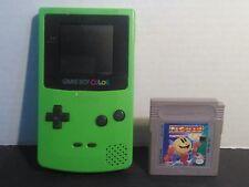 Nintendo Game Boy Color Lime Green Handheld System TESTED & WORKS