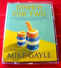 Mike Gayle Dinner For Two 2-Tape Audio Book Fraser Ayres