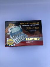 Ectaco Partner Ej400T English - Japanese Talking Dictionary/Business Organizer