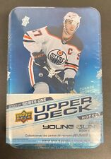2020-21 Upper Deck Series 1 NHL Hockey Collector's Tin Young Guns new sealed