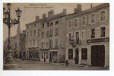 DIEUZE DUSS Moselle CPA 57 rue clemenceau place saline Magasin Lucien Sabotier