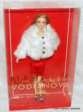 NEW 2017 Russian Super Model Muse Natalia Vodianova Barbie Doll Black Label NRFB