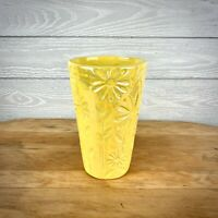 Napco Yellow Daisy Pottery Flower Planter Pot