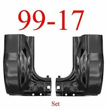 99 17 Ford Super Duty LARGE Cab Corner Set Regular & Crew Cab Extends Into Jamb
