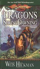D & D Dragonlance 1-4 Dragons of Autumn,Winter,Summer,Spring (pb) Margaret Weis