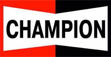 Motorsport Car Motorbike Vinyl Spark Plugs  Sponsor Decals x 2