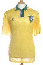 Il Brasile, circa 1991-93, Home Shirt (USATO) XL