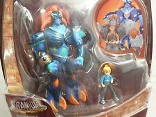 Gormiti Titanium Transformable Super Deluxe Action-Figur - Toby & Kind - 2011