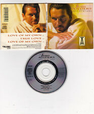 Thomas Anders - LOVE OF MY OWN (8:45 Extended) 3 inch MINI MCD MEGA RARE