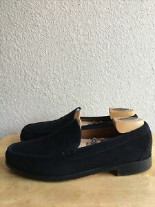 Allen Edmonds Keene Suede Venetian Loafers Brown Mens SZ 13  Made In USA Pre-Own