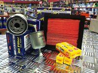 FOR NISSAN MICRA K12 SERVICE KIT AIR FUEL OIL FILTER NGK SPARK PLUGS