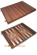 Holz Backgammonspiel Backgammon 60X49 cm Checkers TAVLI Nerd HOLZ Griechenland