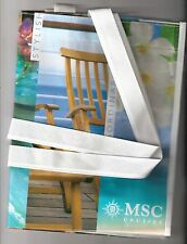 """MSC Cruises....MSC Poesia ...Cruise Ship... The """"everything """" tote bag"""