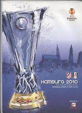 ¡Orig.PRG Europa League 09/10 final ATLETICO de MADRID - FULHAM FC!  Arriba
