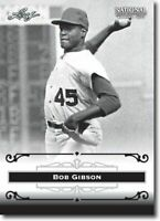 50) BOB GIBSON 2012 Leaf National Convention PROMO St. Louis Cardinals Card LOT