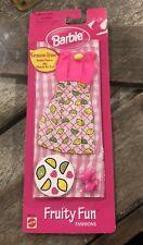 Brand New 1998 Barbie Fruity Fun Fashions Lemon-lime Mattel 68644-92