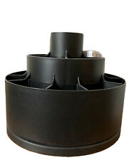 Pampered Chef Tool Turn About Carousel Utensil Caddy Holder Black #2171 Retired