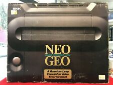 Snk Neo geo AES console Ntsc J complete and 100% working condition