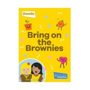 Bring On The Brownies Handbook NEW Official Brownie Uniform- Girl Guiding