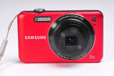 Samsung ES73 12MP Compact Digital Camera in Red
