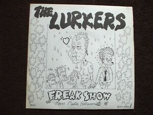 The Lurkers  -  Freak Show Original.1977 P/S Single 1st Pressing A/1 & B/1