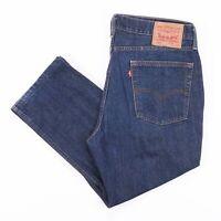 Vintage LEVI'S 514 Regular Straight Fit Men's Blue Jeans W36 L24