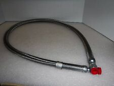 Stainless Steel Braided -06 Hydraulic Hose 4' Length A19544-001
