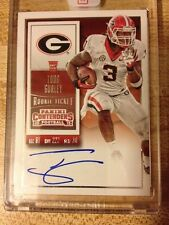 Todd Gurley 2015 Panini Contenders Rookie Ticket Signature Mint RC Auto 238C Var