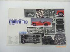 1/24 Scale Gunze Sangyo  Triumph TR 3  high tech model/ kit