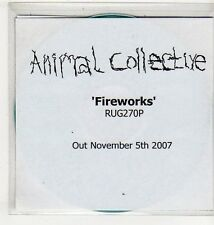 (EV569) Animal Collective, Fireworks - 2007 DJ CD