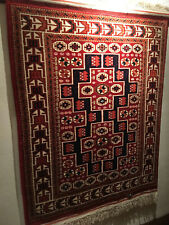Beautiful Turkish Carpet - DOBAG Bergama - AMAZING SOFT VELVETY WOOL