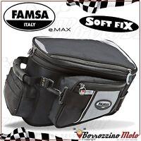 FA244/37 BORSA DA SERBATOIO FAMSA E-MAX STD CON BASE PER SUZUKI GSX-R 600 2007