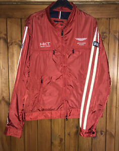 HACKETT Aston Martin Racing Packable Jacket HM401080 - Red M Immaculate