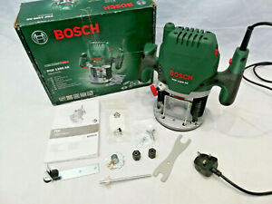 BOSCH POF1200AE ELECTRIC ROUTER  WOODWORKING TIMBER WORKSHOP FURNITURE