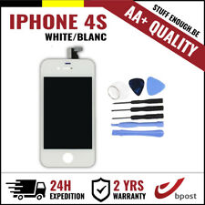 AA+ LCD TOUCH SCREEN VITRE DISPLAY/SCHERM/ECRAN WHITE BLANC +TOOLS FOR IPHONE 4S