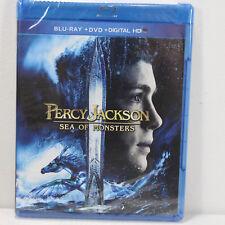 PERCY JACKSON SEA of MONSTERS 2013 Blu-ray Ultraviolet Blu-ray DVD Logan Lerman