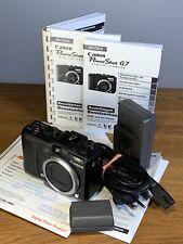 Canon PowerShot G7 10.0 MP Digitalkamera - Schwarz