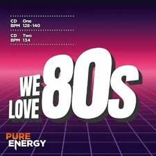 Pure Energy We Love The 80's Aerobics Fitness Music CD - Eighties