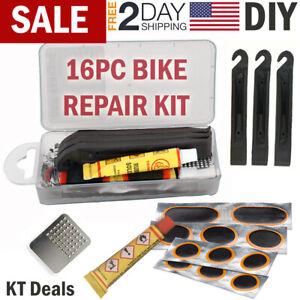 Tubeless MTB Tyre Puncture Repair Tool Bike Puncture Kit Durable Repair P5P6